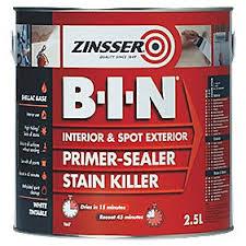 Timber Preparation Zinsser BIN Shellac Primer and Sealer